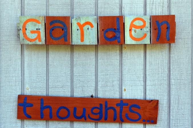 garden thoughts