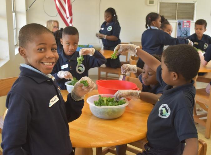 kale salad makers - boulware