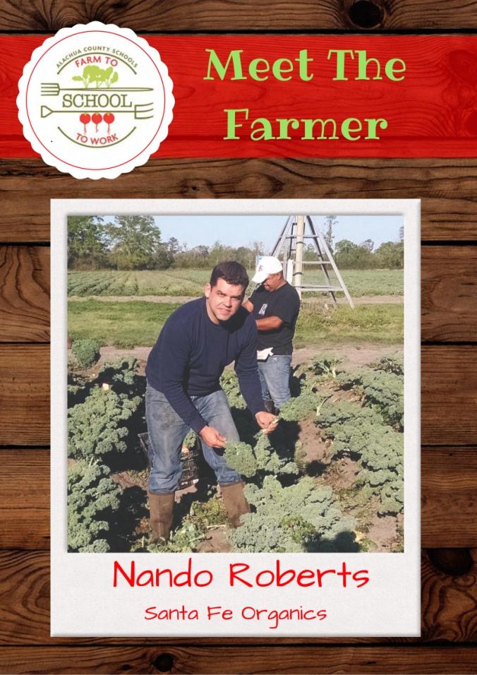 Nando Roberts - trading card