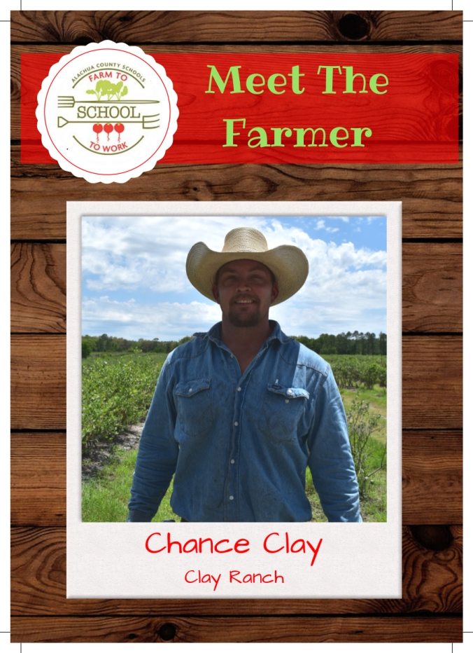 Chance Clay trading card