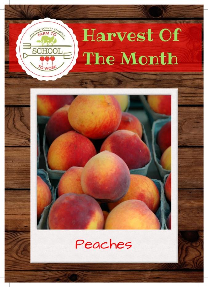 peaches trading card